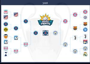 Champions League 2019-2020 Brackets (Community Rank ...