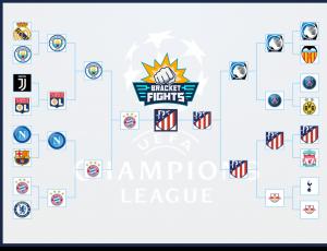 CHAMPIONS LEAGUE 2019-2020 RONDA ELIMINATORIA Brackets ...